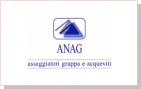 Anag: grappa and distilled beverage tasters